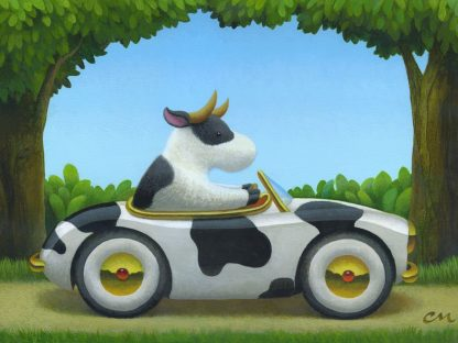 M1619D - Miles, Chris - Cow Car