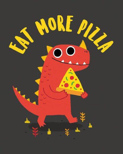 B3709D - Buxton, Michael - Eat More Pizza