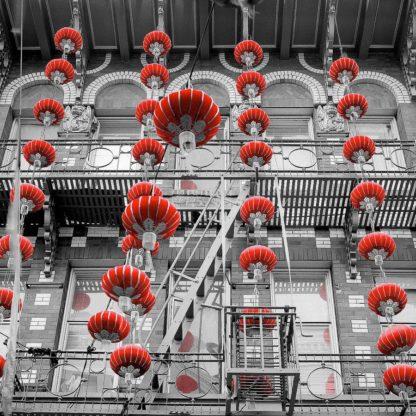 B3721D - Blaustein, Alan - Red Lanterns