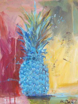 D1975D - De Los Reyes, Kym - Cobalt Pineapple