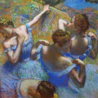D1991D - Degas, Edgar - Ballerine dietro le quinte