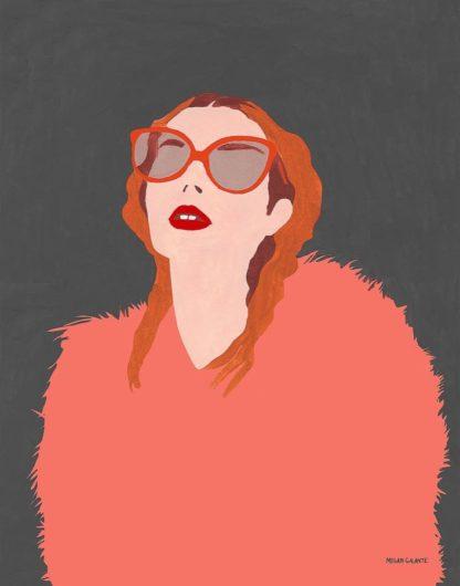 G2054D - Galante, Megan - Orange Fur