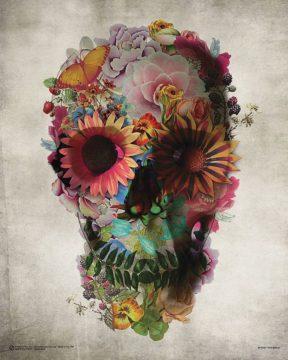 G978 - Gulec, Ali - Flower Skull