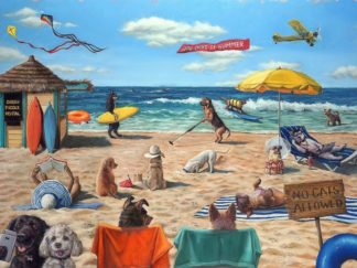 H1519D - Heffernan, Lucia - Dog Beach