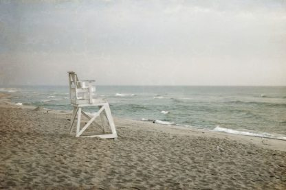 R1209D - Ryan, Brooke T. - Lifeguard Chair at Dawn