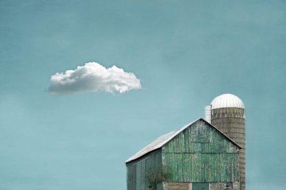 R1220D - Ryan, Brooke T. - Green Barn and Cloud