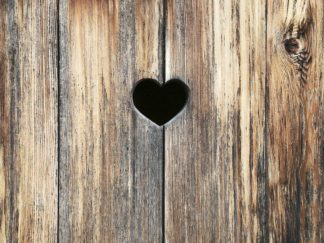 R1232D - Ryan, Brooke T. - Heart in Wood