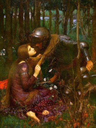 W1025D - Waterhouse, John William - The Beautiful Lady without Pity, 1893