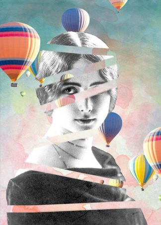MF969-0420 - Design Fabrikken - Cleo De Merode Baloons