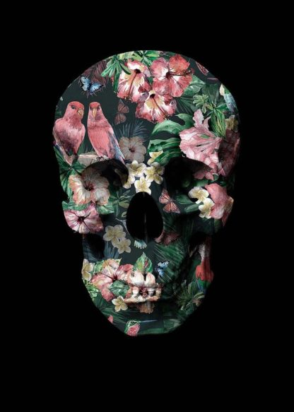 MF969-0423 - Design Fabrikken - Tropic Skull