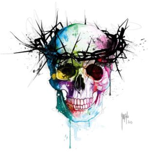 IG7452 - Murciano, Patrice - Jesus' Skull