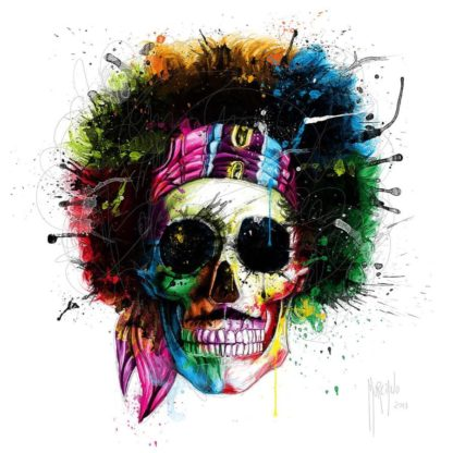 IG7459 - Murciano, Patrice - Woodstock Skull