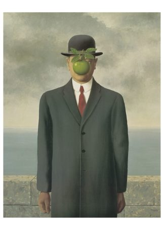 M770 - Magritte, Rene - The Son of Man