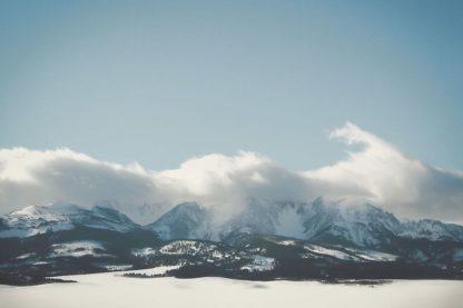 A592D - Annie Bailey Art - Bridger Mountain Cloud Cover