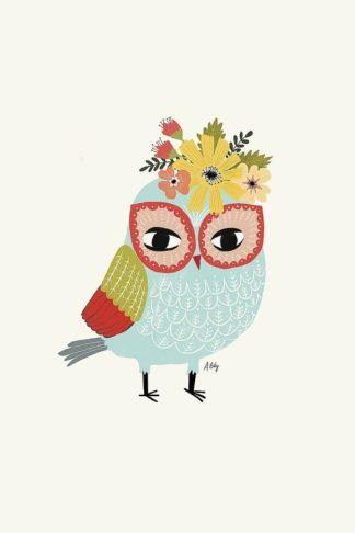 A599D - Annie Bailey Art - Helga Owl