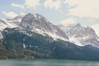 A605D - Annie Bailey Art - Saint Mary Lake