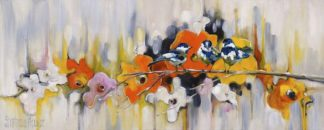 A616D - Aguilar, Stephanie - Trio with Poppies