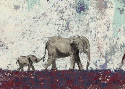 B3745D - Baran, John - Elephant March