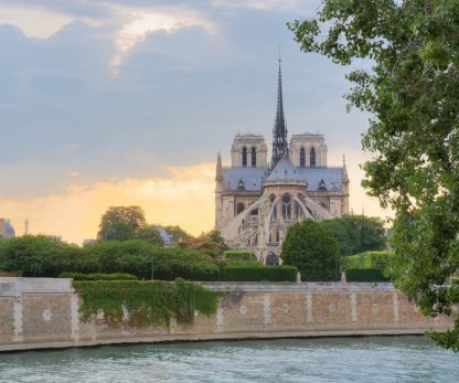 B3760D - Blaustein, Alan - Notre Dame - View from the Seine