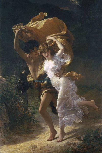 C1243D - Cot, Pierre-Auguste - The Storm, 1880