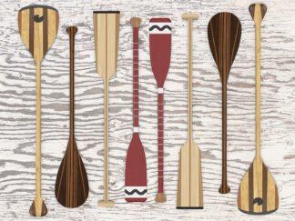 F749D - Fielding, Edward M. - Canoe, Paddles & Oar