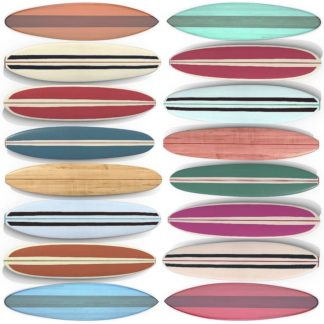 F756D - Fielding, Edward M. - Surfboard Pattern
