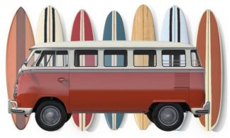 F764D - Fielding, Edward M. - Surfer Van