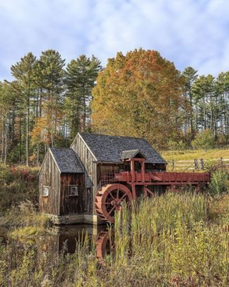 F767D - Fielding, Edward M. - Grist Mill
