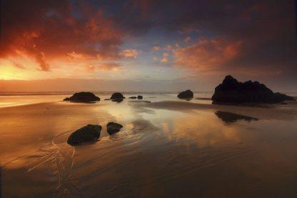 H1541D - Hodges, Randall J. - Sunset Cannon Beach