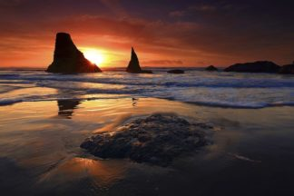 H1542D - Hodges, Randall J. - Face Rock Beach, Oregon