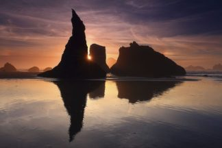 H1543D - Hodges, Randall J. - Sea Stacks, Bandon, Oregon