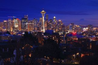 H1560D - Hodges, Randall J. - Night Seattle
