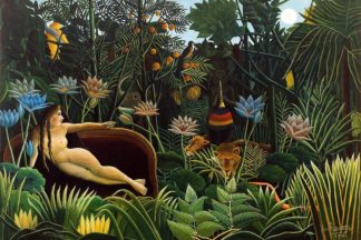 R1233D - Rousseau, Henri - The Dream