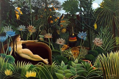 R1233D - Rousseau, Henri - The Dream