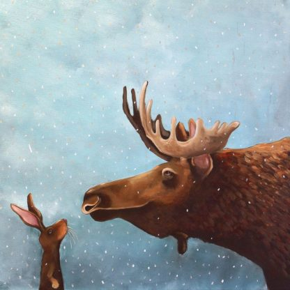 S1785D - Stewart, Lucia - Moose and Rabbit