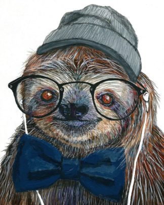 S1804D - Symons, Melissa - Hipster Sloth