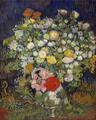 V730D - Van Gogh, Vincent - Bouquet of Flowers in a Vase, 1890
