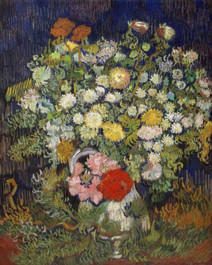 V730D - Van Gogh, Vincent - Bouquet of Flowers in a Vase, 1890