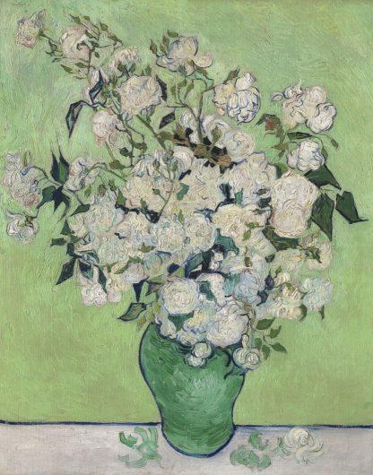V733D - Van Gogh, Vincent - Roses, 1890 (Green Vase)