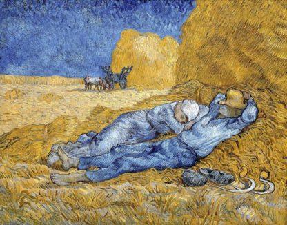 V736D - Van Gogh, Vincent - Noon - Rest from Work, 1891