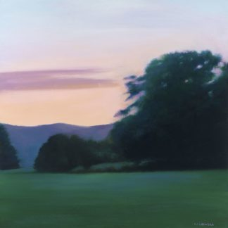 C1260D - Caldwell, Carolyn - Lawn at Twilight