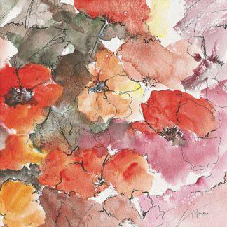 IG8573 - Manero, Annie - Floraison rouge