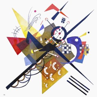K2728D - Kandinsky, Wassily - On White II