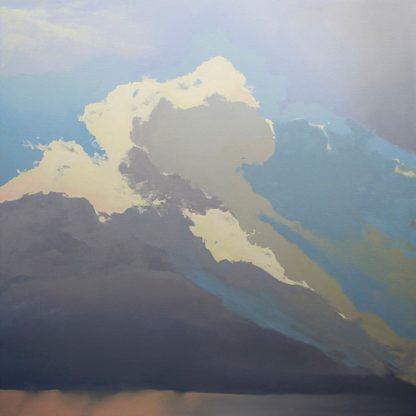 P1186D - Pannell, Cap - Storm over Chisos