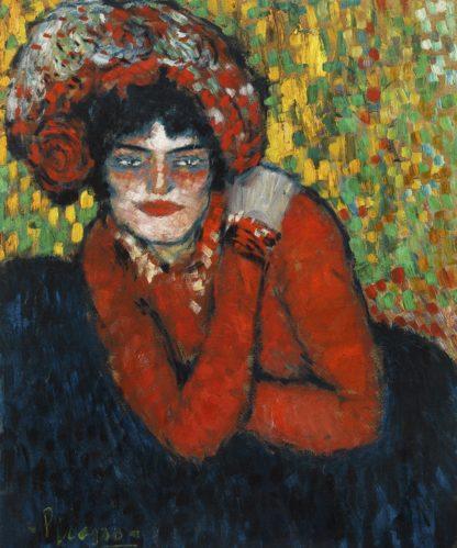 P1188D - Picasso, Pablo - Margot