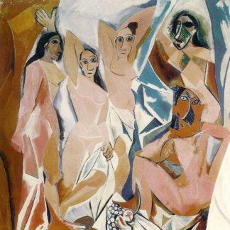 P1189D - Picasso, Pablo - Les Demoiselles d'Avignon, 1907