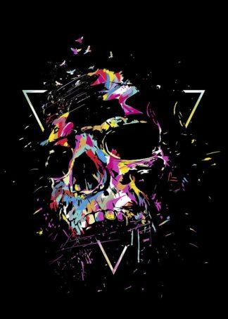S1825D - Solti, Balazs - Skull X (color)