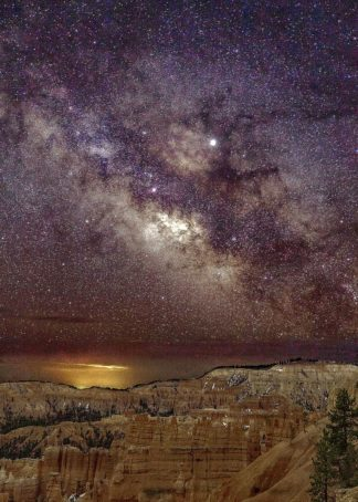 S1830D - Severn, Shawn/Corinne - Milky Way over Bryce Canyon (portrait)