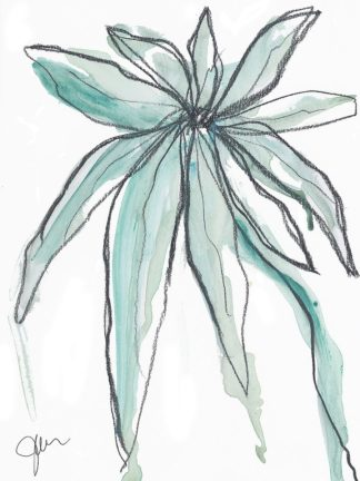 W1071D - Weiss, Jan - Teal in Nature