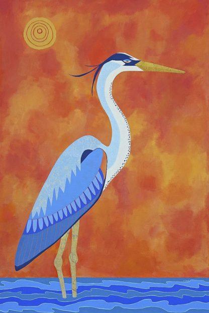 C1264D - Craig, Casey - Blue Heron